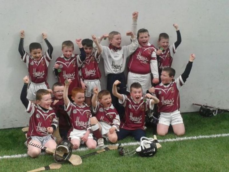 U8s in Action at the Indoor Centre in Dunloy
