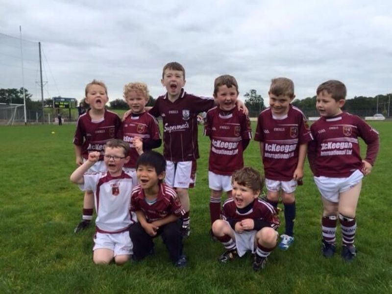 Our Mighty U6 Hurlers